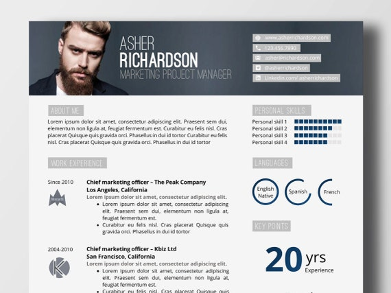 design resume word
