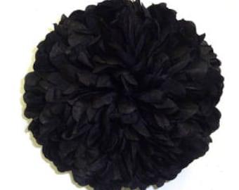 Black Homecoming Mum Flower
