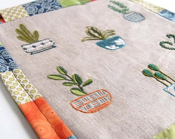 Embroidery Pattern Happy Houseplants embroidery designs in Mix and Match designs for modern hand embroidery projects and gifts