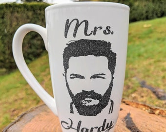 Mrs. Hardy mug, Tom Hardy mug, coffee mug Tom Hardy