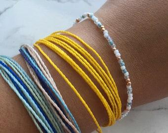 Minimalist Beaded Bracelet/ Anklet