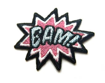 BAM Embroidered Patch Appliqué