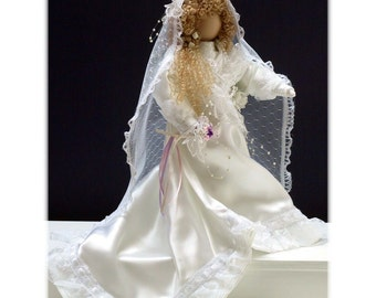 Flora Ellen Victorian Faceless Lady Bridal Art Doll E-Pattern
