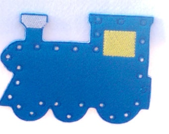 Train lacing card -train sewing card - educational learning toy - fine motor skills - hand eye corrdination -  #3886