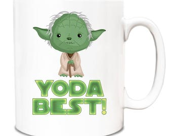 Yoda Best funny gift idea novelty 10oz Mug 245 -  Gift Present Birthday Christmas Office Secret Santa