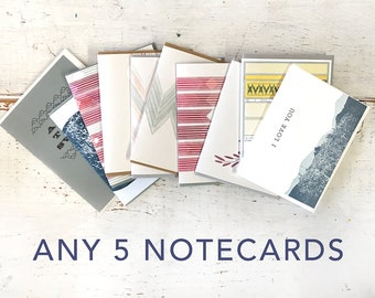 You Pick : 5 Notecards