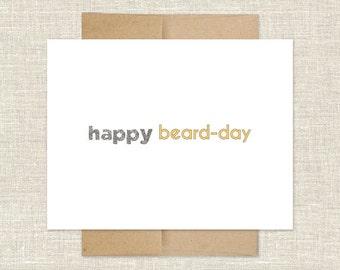 Happy Beard-Day Card