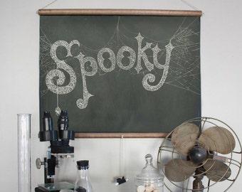 Spooky Chalkboard Art Printable