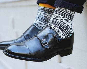 Designer colorful mens socks Chamanes