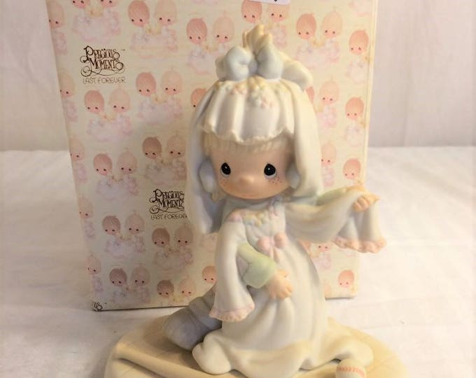 "Precious Moments Figurine ""Someday My Love"" in the orginal box in excellent condition w/ Reduced shipping"