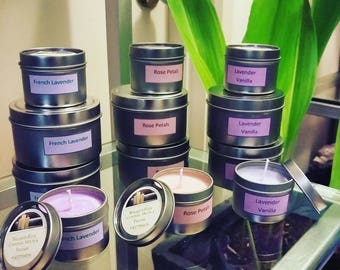 Handmade Soy Candle.