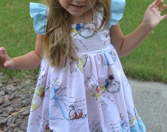 DIsney Princess Dress, Cinderella Dress, Belle Dress, Snow White Dress