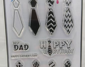 Groovy Dad - A6 Stamp Set by Imagine Design Create