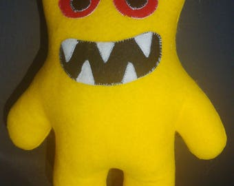 Scary monster soft toy