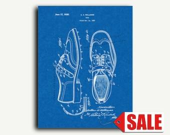 Patent Art - Shoe Patent Wall Art Print