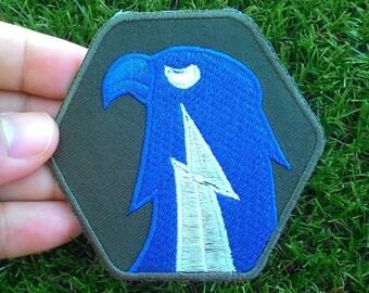 flash eagle army logo Iron On Patch.