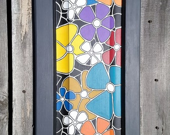 Flower Power - Unique Wall Art