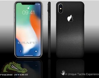 iPhone X 10 Matte Black Phone Skin