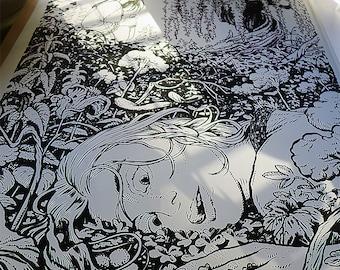 BALLADYNA print 50x70cm