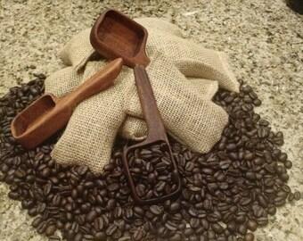 Handmade Wooden Coffee Scoop