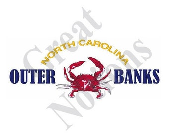 Outer Banks NC - Machine Embroidery Design