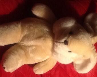 Cuddle Wit Tan Rabbit Stuffed Plush LNWOT 14 Inch