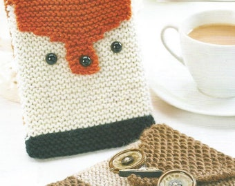 Instant Download - PDF- E-Reader Cosy/Cover Knitting Pattern (H38)