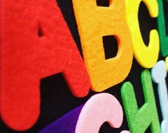 ABC felt alphabet