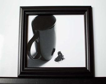 Coffee Photography, Coffee Print, Coffee Love, Modern art print, Coffee art print, Coffee wall art, Kitchen decor, Art studio decor