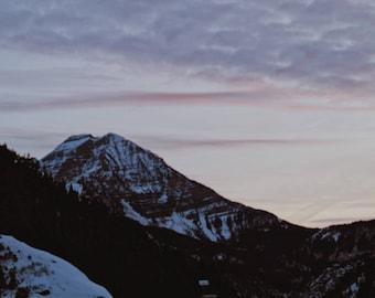 Sunset mountain landscape (Digital download)