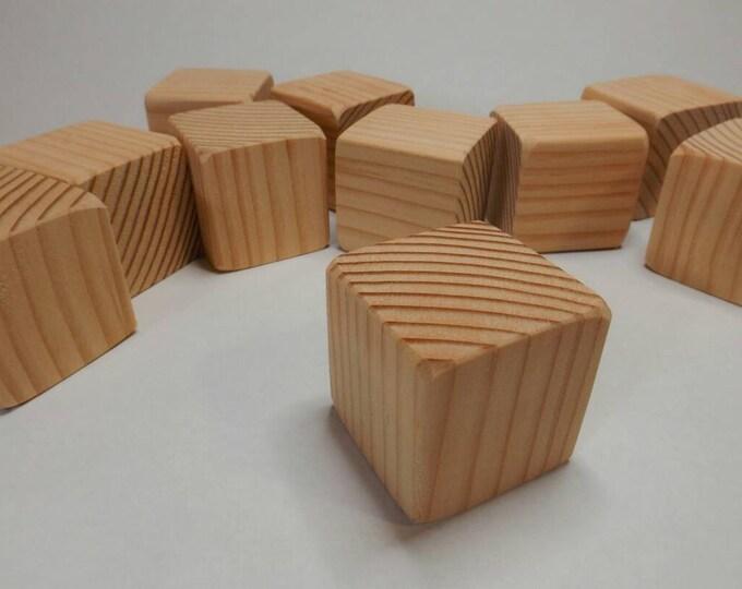 Wood Blocks / 2 inch size / Wooden Blocks / Unfinished Wood Blocks / Building Blocks / DIY Baby Block/ Baby Shower Activity / Craft Blocks