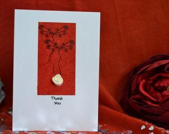 Handmade Thank You Card