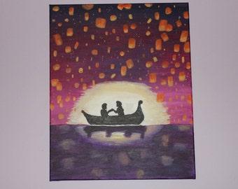 Tangled Lantern Painting