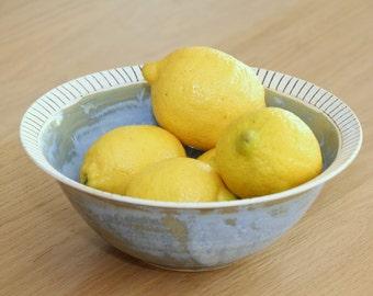 Ceramic Salad Bowl, Large Salad Bowl, Wedding Gift Ideas, Large Serving Bowl, Ceramic Bowl, Salad Bowl, Fruit Bowl, Large Bowl, Mixing Bowl