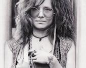 9x12 Janis Joplin - Like ...