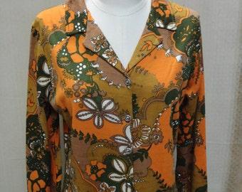 vintage 1960s-1970s Bohemian dress