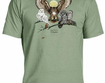Owls of North America t-shirt