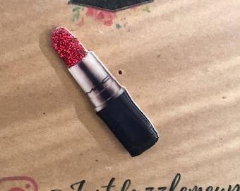 Mac lipstick pin