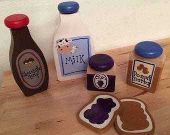 Peanut Butter & Jelly Sandwich Set