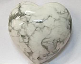 Heart in 40mm Sodalite Stone