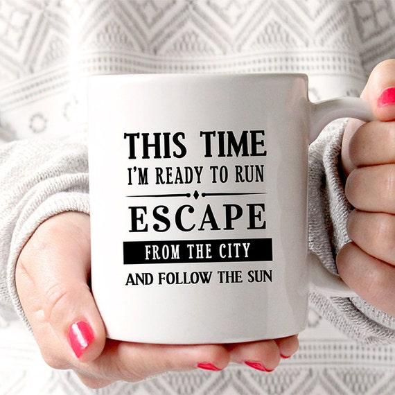 Coffee Mug Ready To Run Mug One Direction Lyrics Coffee
