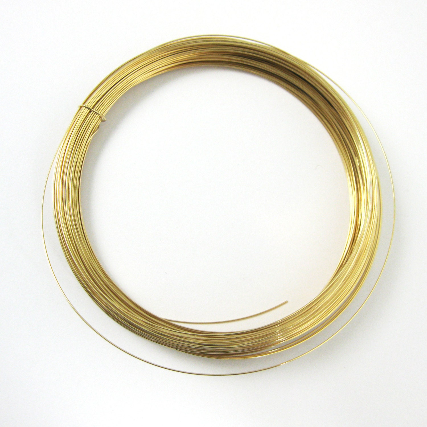 Gold Filled Wire. 24 Ga Half Hard Wire, 0.5mm Wire, Gold Filled ...