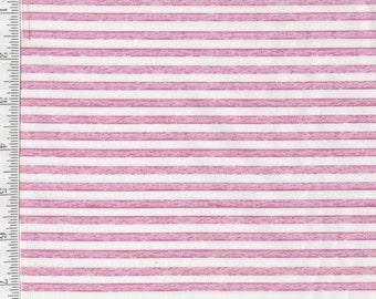 Baby Sprinkles - Per Yard - Quilting Treasures - Nicole Tamarin - Pink and white Stripe