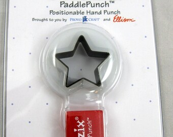 Sizzix Paddle Punch Star No.1  38-0821