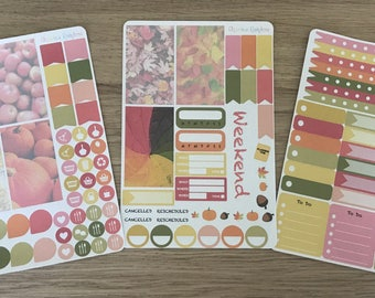 Autumn Weekly Kit - for use with Erin Condren LIFEPLANNER(TM)