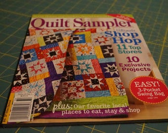 Quilt Sampler Magazine *Free with purchase, details below