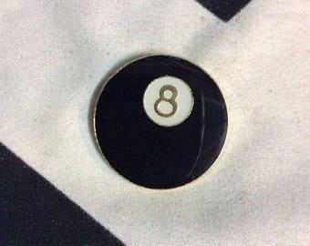 Magic Eight Ball pin