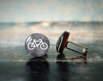 bicycle cufflinks , cycling gifts , biking cufflinks , gift for cyclist , boyfriend gift , boyfriend gift , sport cufflinks