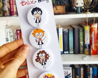Harry Potter badges pack