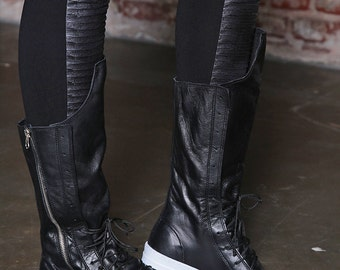 Black Boots/ Women Sneakers/ Leather Boots/ Combat Boots / Black Boots / Casual Boots / Women Sneakers / High Sneakers / Sport Boots